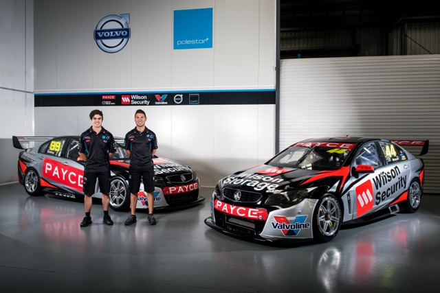 2016 Volvo Cyan Racing V8SC reveal Australia. Friday 19th February 2016. World Copyright: Volvo Cyan Racing Ref: Digital Image DKD_2680.NEF