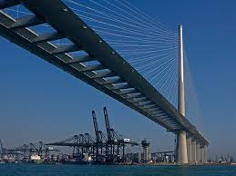 Figure 1 - photo of Stonecutters bridge