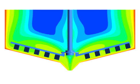 CFD Results Used In Surrogate Model Optimisation