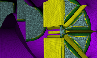 A Mixed-element Unstructured Grid Created Using Pointwise For The 4th AIAA Propulsion Aerodynamics Workshop