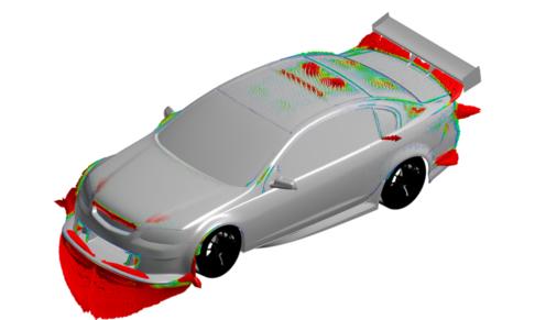 Adjoint Vectors V8 Supercar