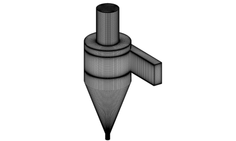 Cyclone Structured Mesh