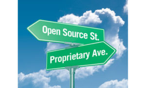 deciding between open source and proprietary software