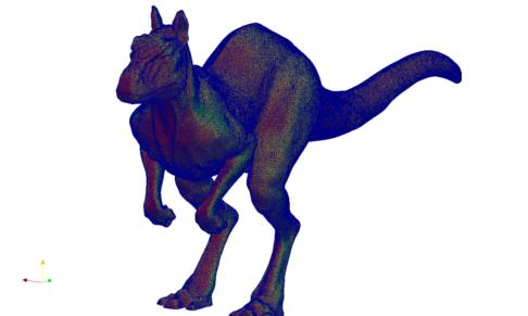 Kangaroo Surface Mesh