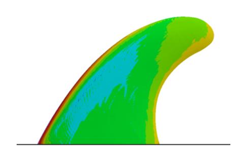 Standard Surfboard Fin