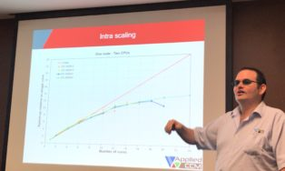 Darrin Stephens Talking About Cost Of Onwership Of Bare-metal HPC Clusters