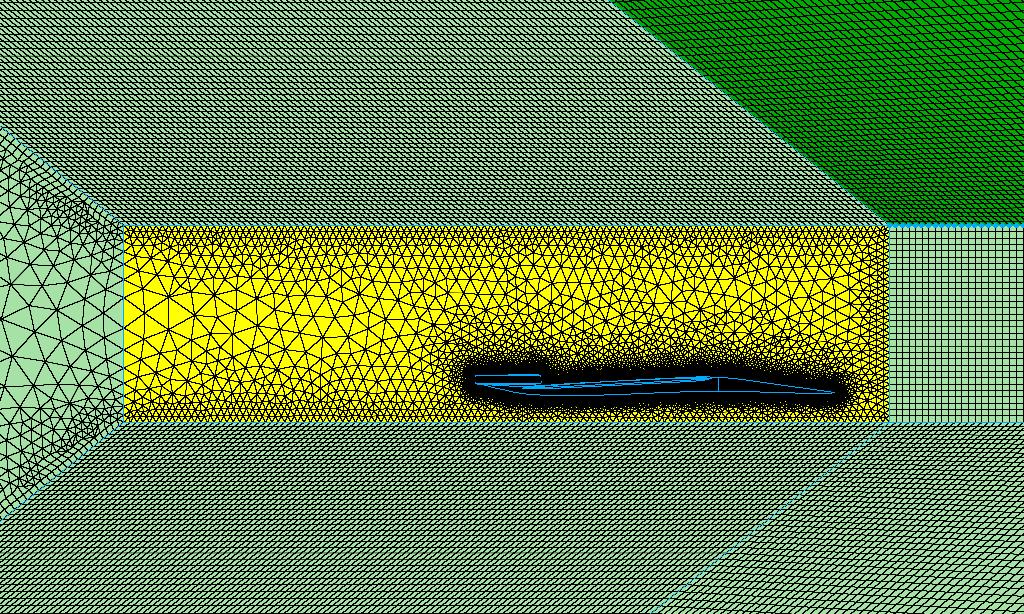 Figure 8 -  mesh glf script ran with beta = 38