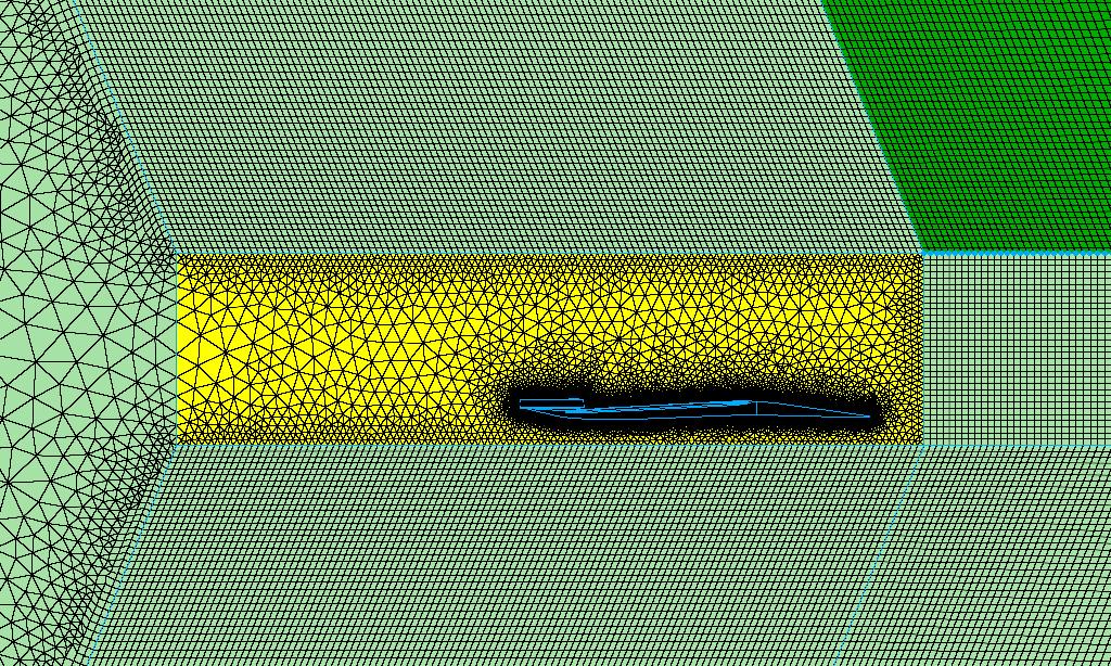 Figure 9 -  mesh glf script ran with beta = 67
