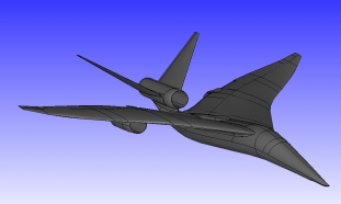 Scripting Structured-Unstructured Meshes For Aerospace